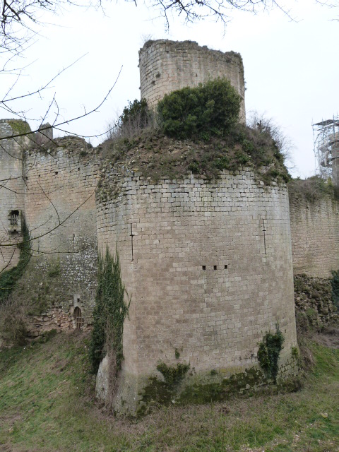 Tour Double - Chateau Coudray Salbart